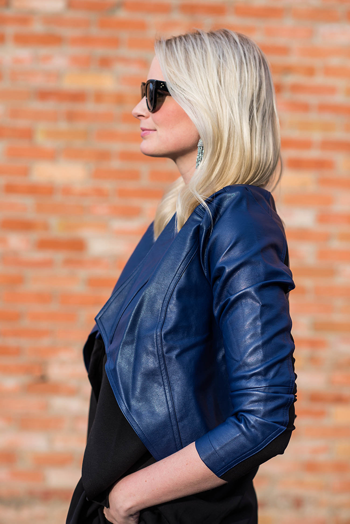 G by Giulana Leather Jacket | The Style Scribe