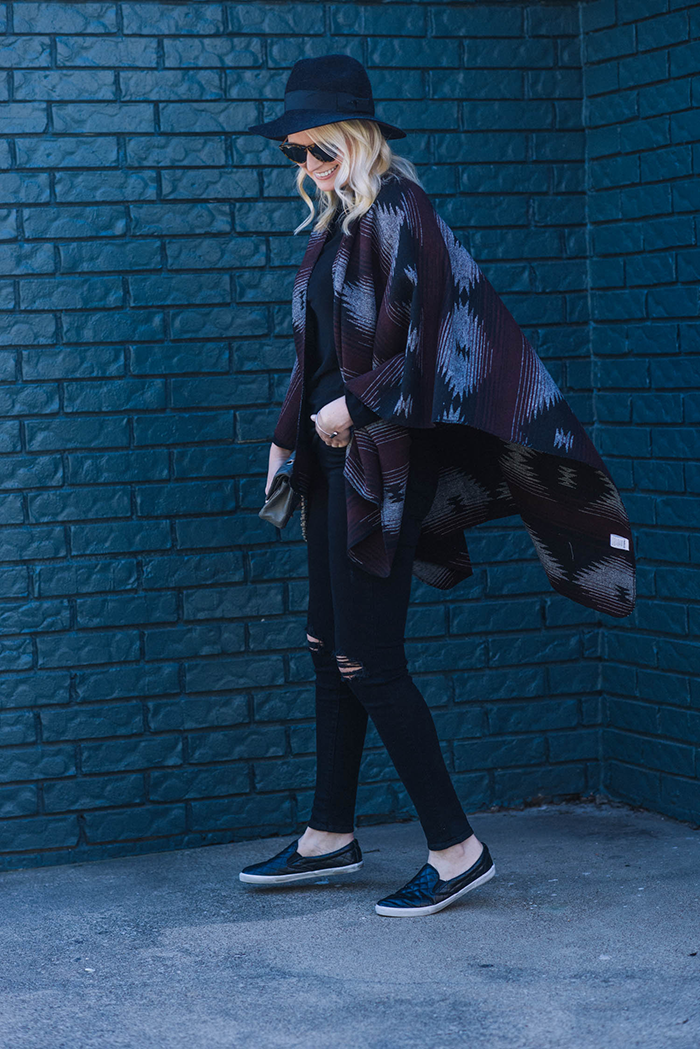 Glamorous Blanket Cardigan | The Style Scribe