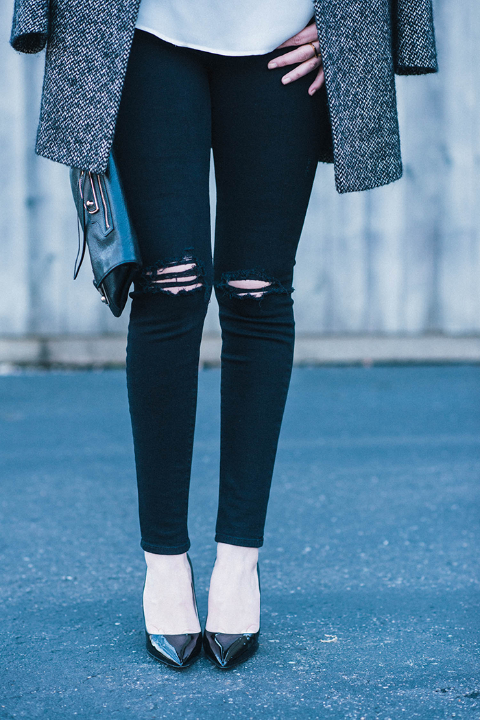 J Brand Distressed Skinny Jeans | The Style Scribe