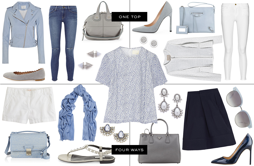 One Top, Four Ways | The Style Scribe