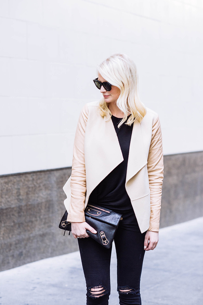 Vince Drape Front Jacket | The Style Scribe