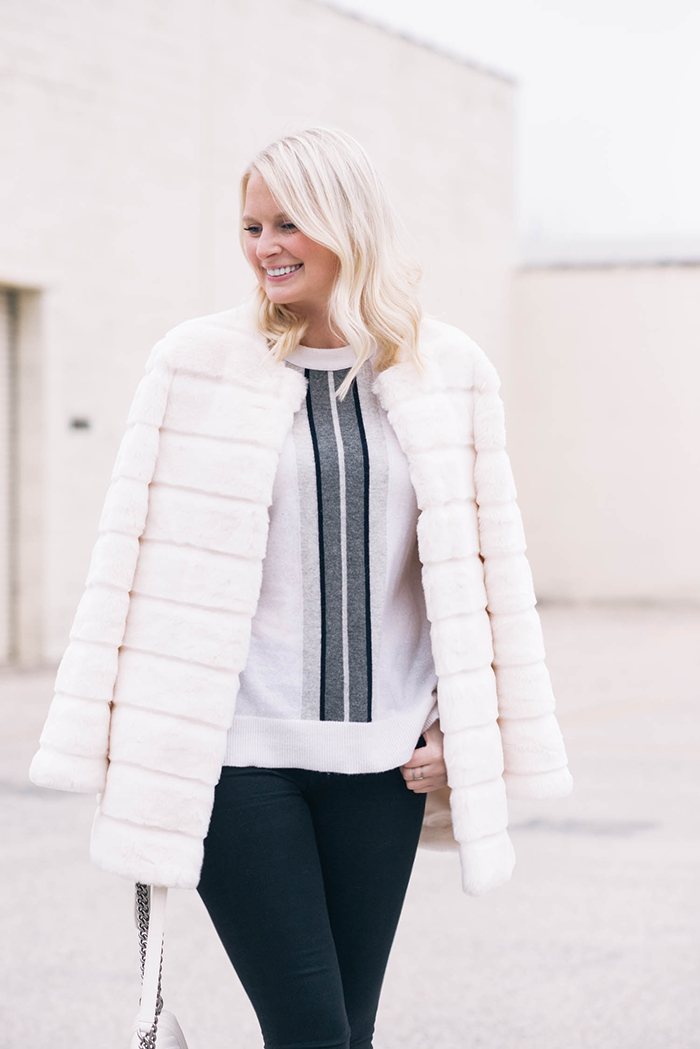 Zara Faux Fur Coat | The Style Scribe
