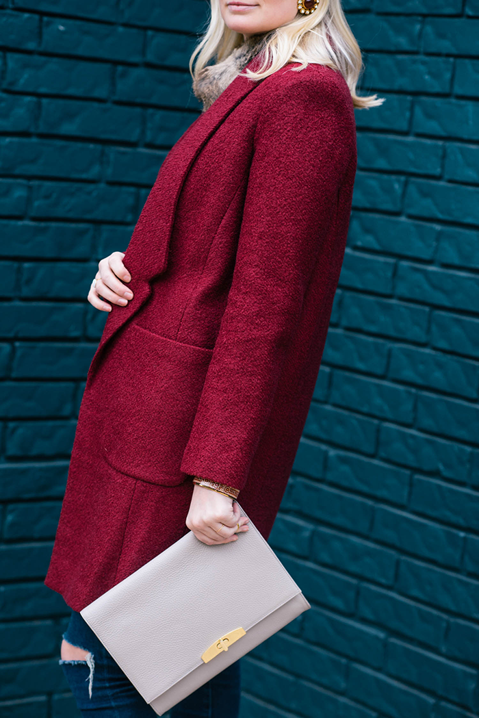 ASOS Drop Collar Coat | The Style Scribe