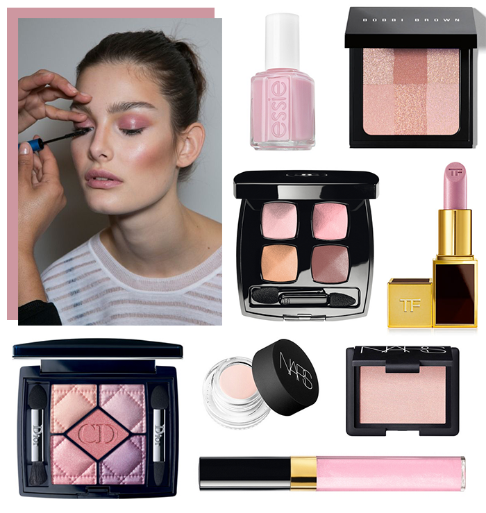 Best of Beauty // Pale Pink Makeup