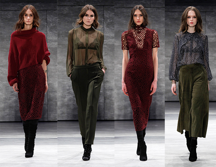 Charlotte Ronson Fall/Winter 2015 Collection