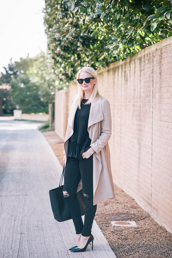 Club Monaco Gideon Trench | The Style Scribe