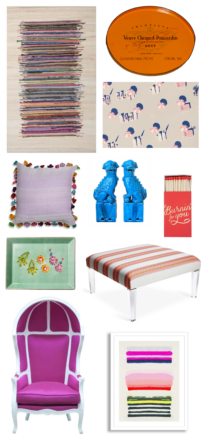 Haute Home // Colorful Accents