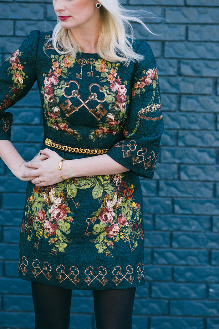 Dolce & Gabbana Key Dress | The Style Scribe