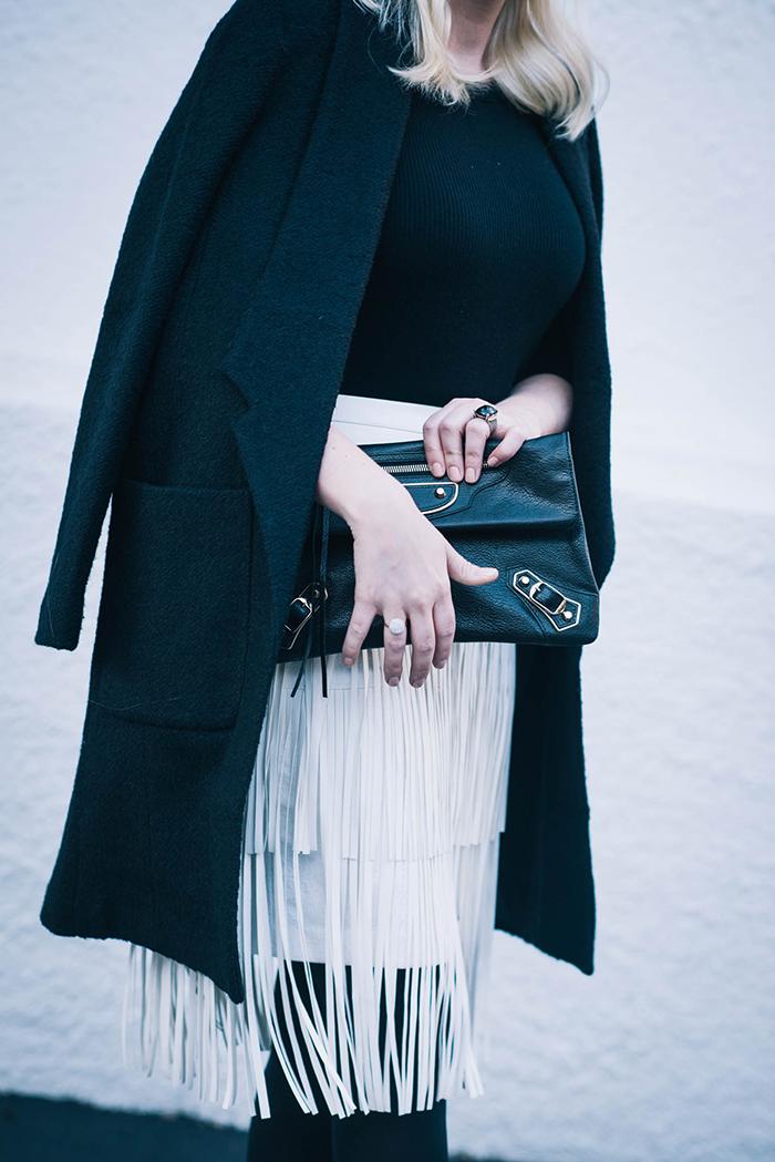 White Fringe Skirt   The Style Scribe