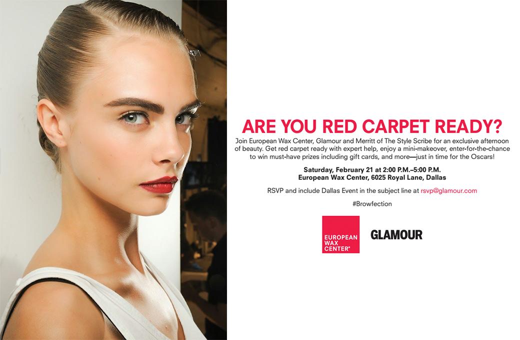 European Wax Center + Glamour Red Carpet Ready