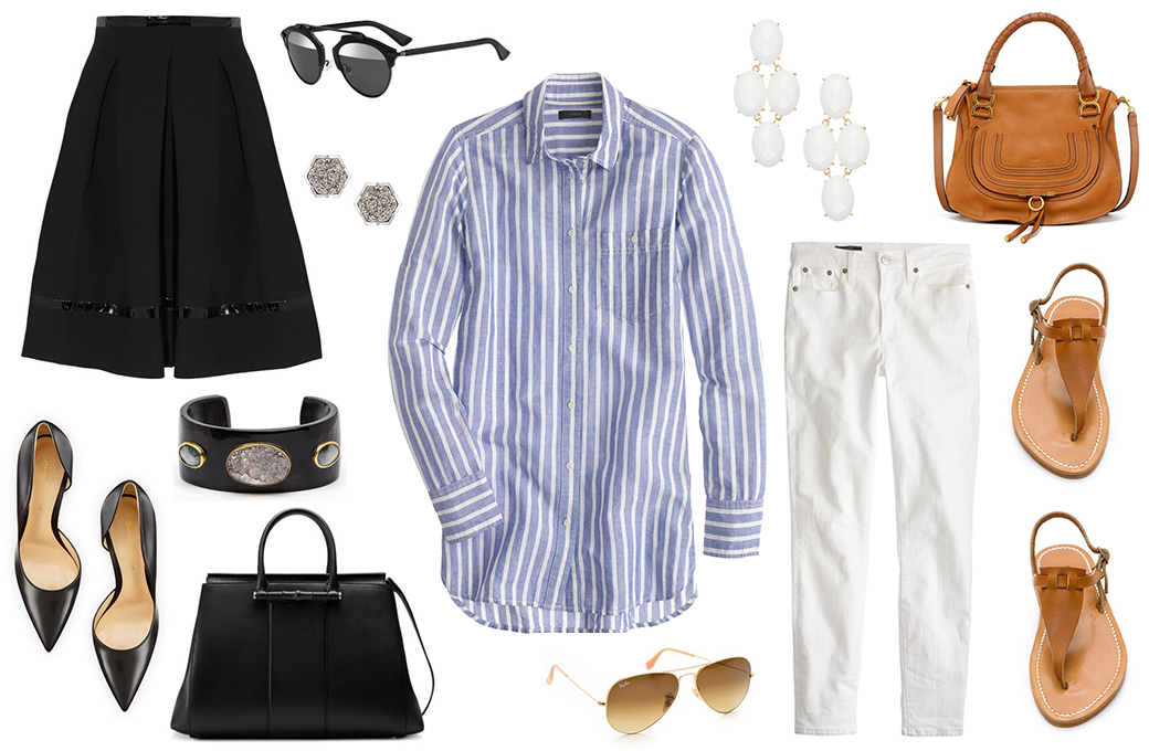 Work To Weekend Stripes | The Style Scribe