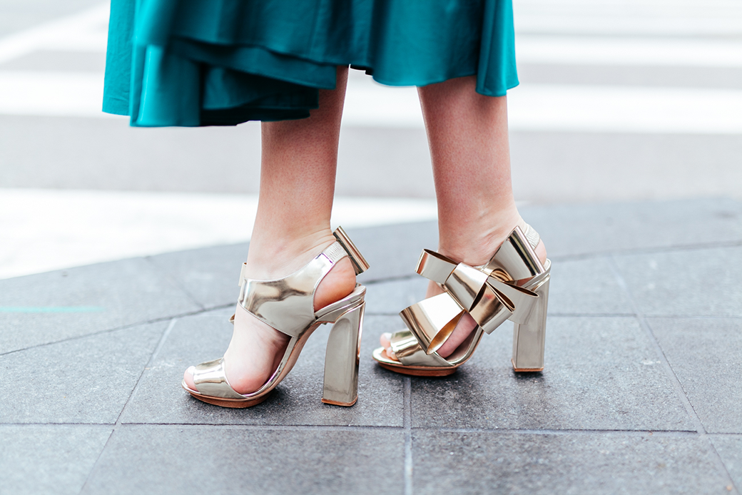 Tibi Satin Poplin Strapless Dress   The Style Scribe