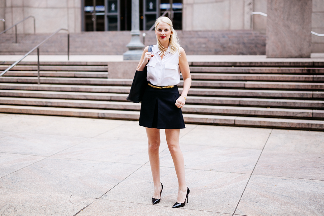 J.Crew Pleat Front Skirt | The Style Scribe