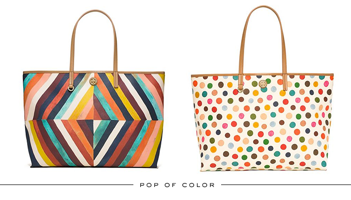 Tory's Totes / Pop of Color | The Style Scribe