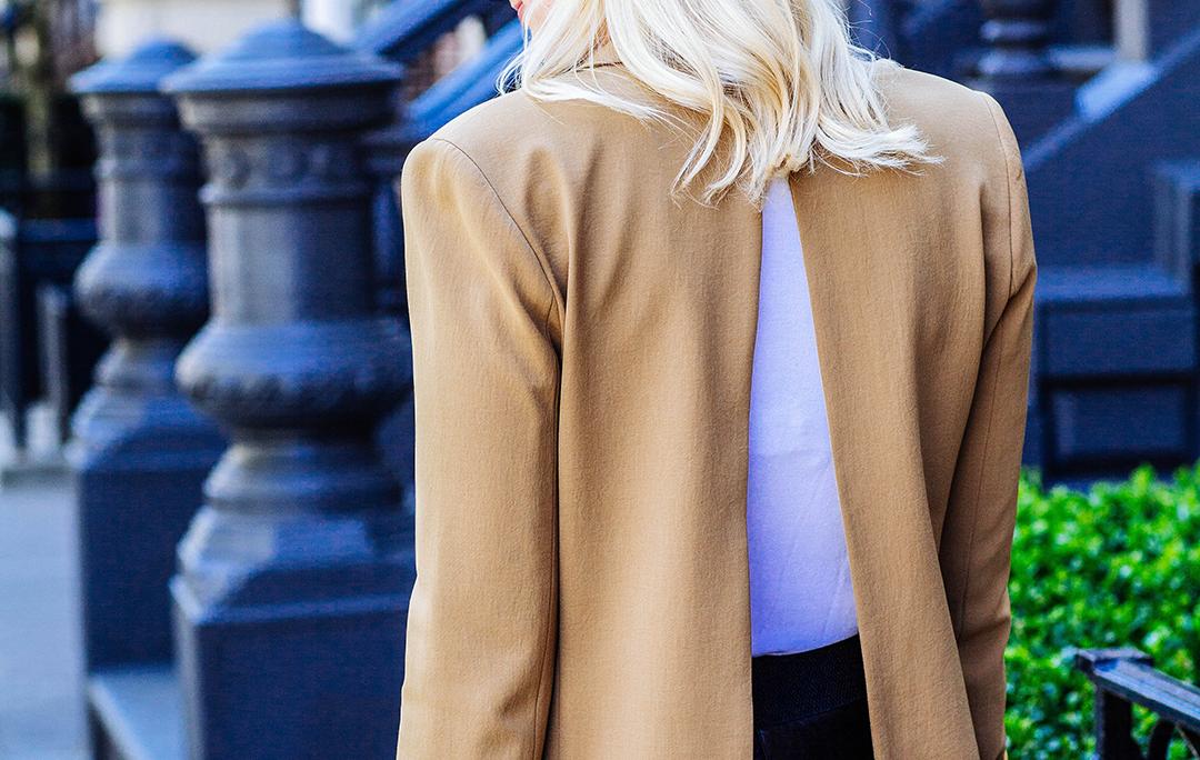 Open Back Blazer | The Style Scribe