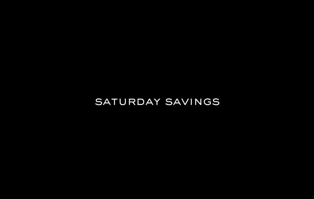 Saturday Savings | The Style Scribe