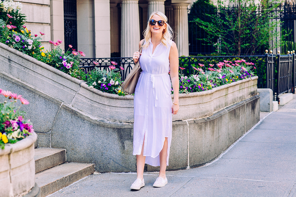 BB Dakota Sleeveless Shirtdress | The Style Scribe