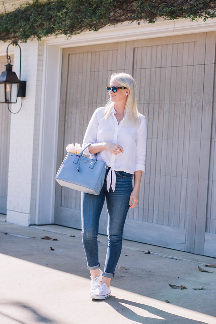 Chico's Linen Shirt | The Style Scribe