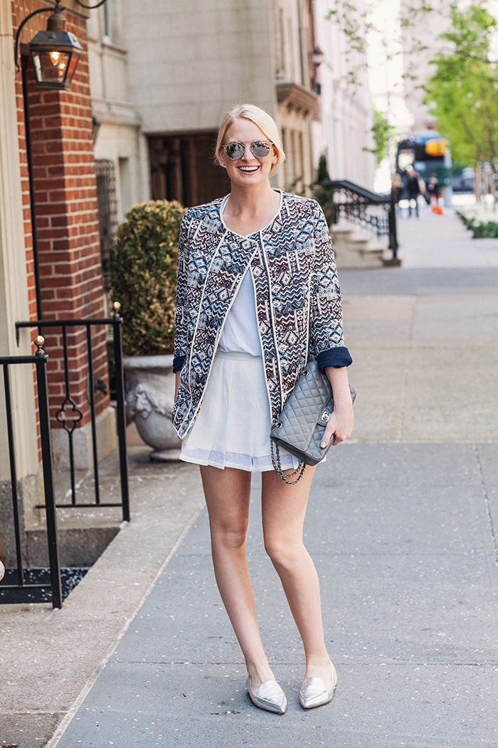 Club Monaco Pleated Shorts | The Style Scribe