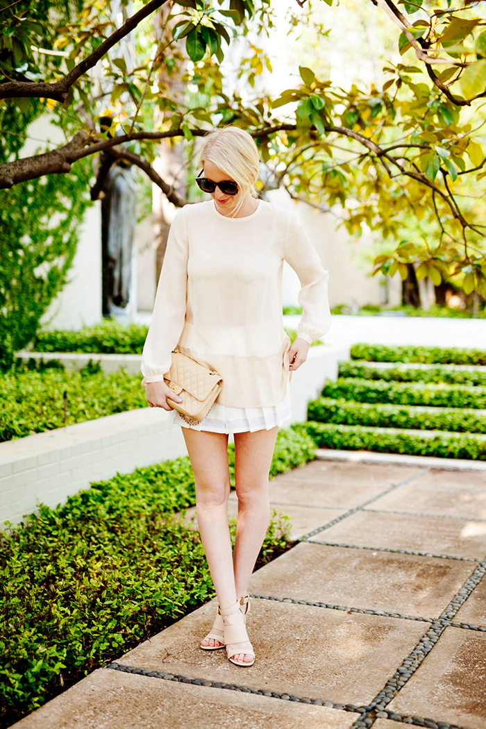 Club Monaco Aren Skort | The Style Scribe