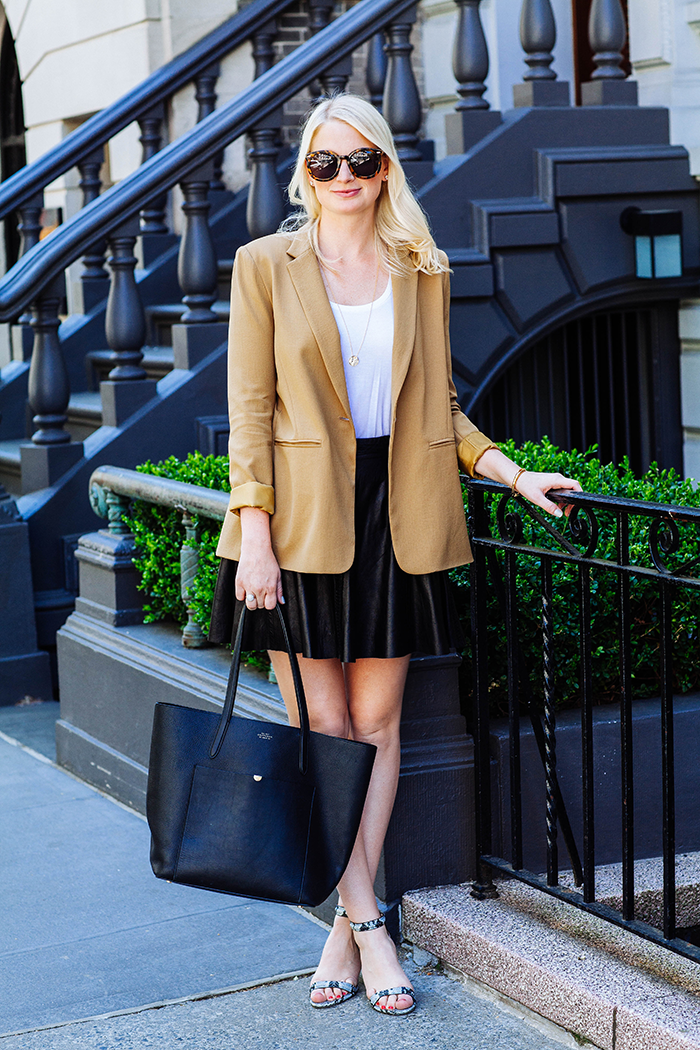 Open Back Blazer | The Style Scribe