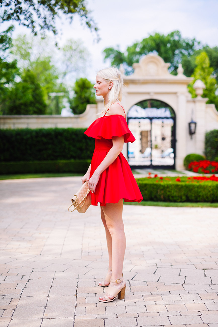 Off The Shoulder Dress   The Style Scribe