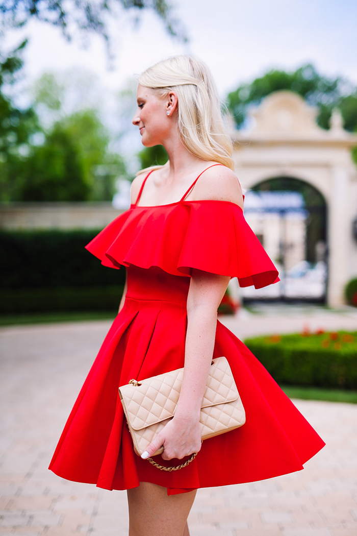 Off The Shoulder Dress | The Style Scribe