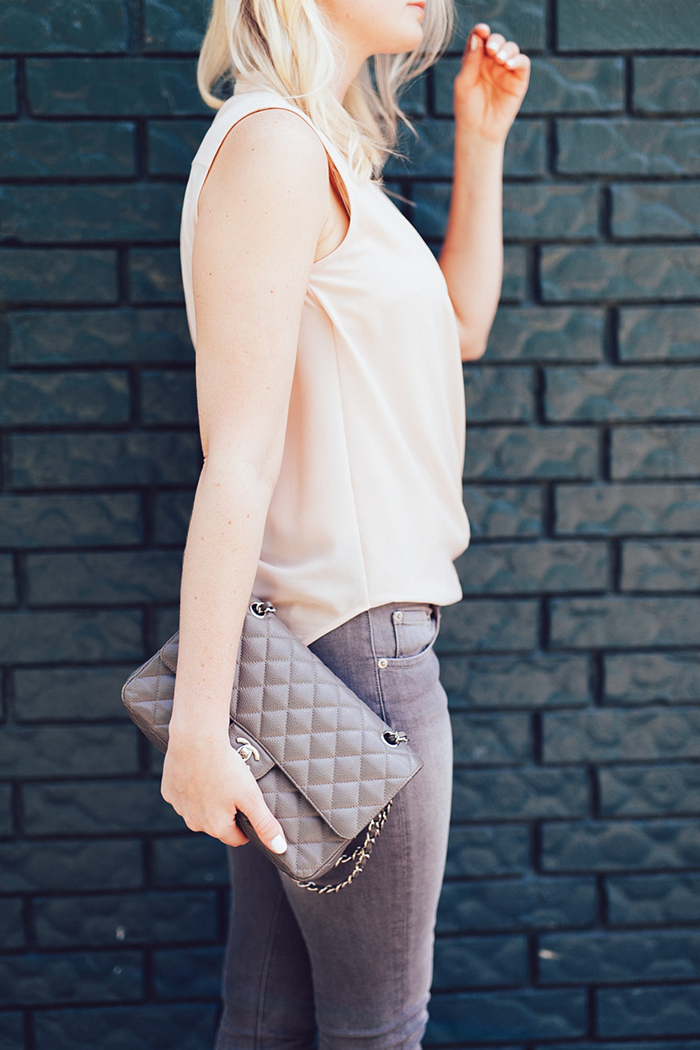 Nude + Grey | The Style Scribe