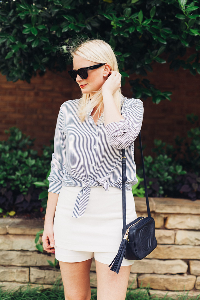Equipment Striped Shirt | The Style Scribe