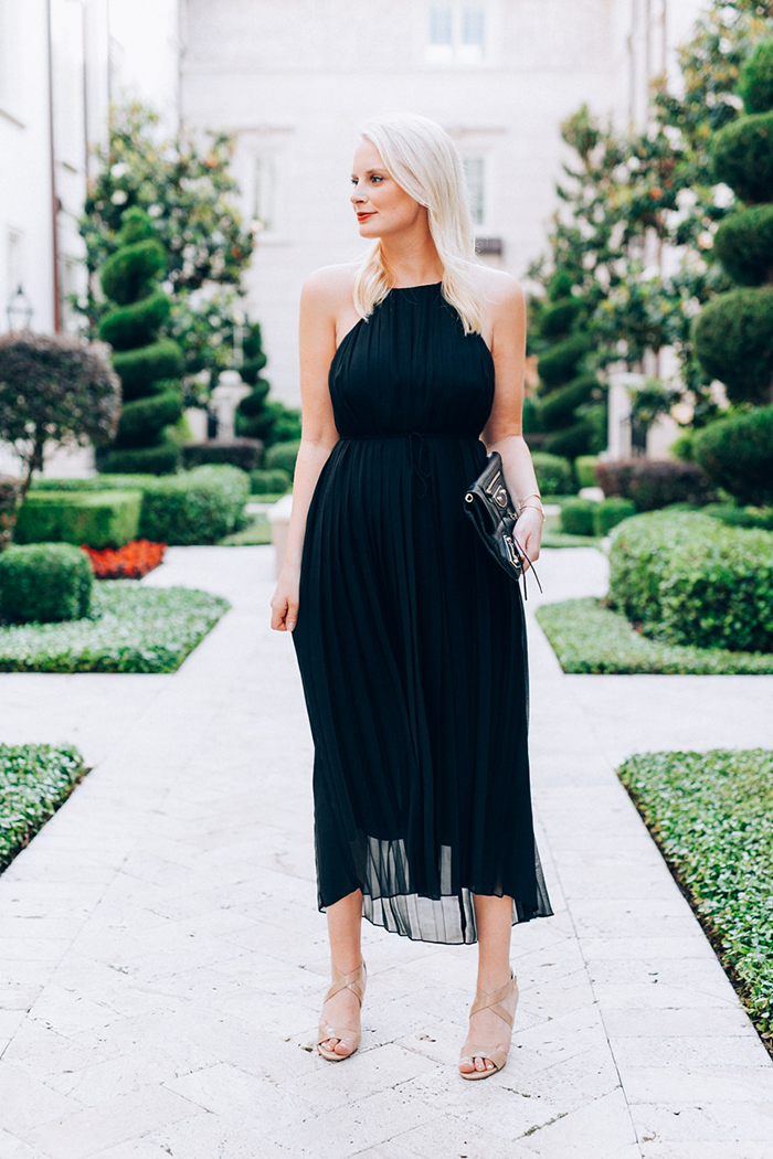 Tibi Simone Pleated Dress | The Style Scribe