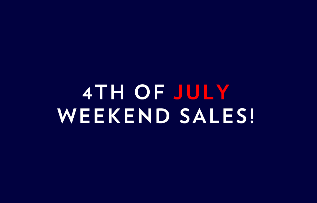 4th of July Weekend Sales | The Style Scribe