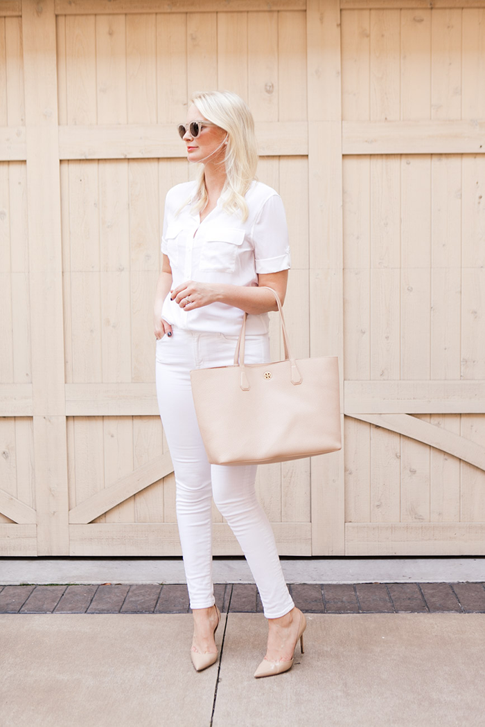 All White Outfit | The Style Scribe