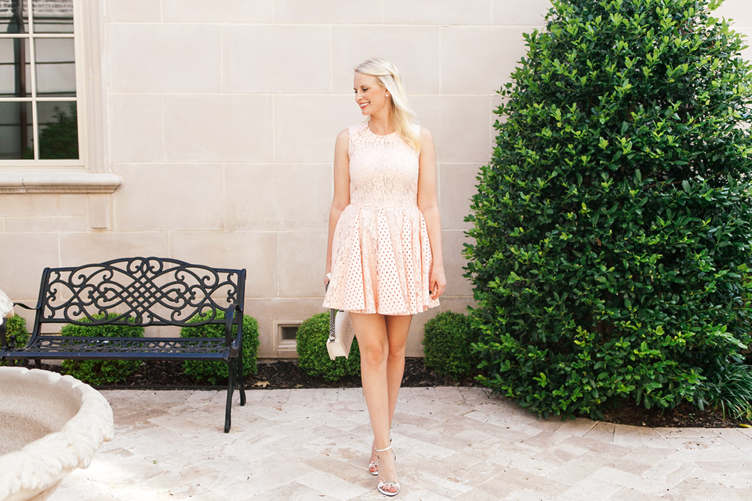 MSGM Lace Dress | The Style Scribe