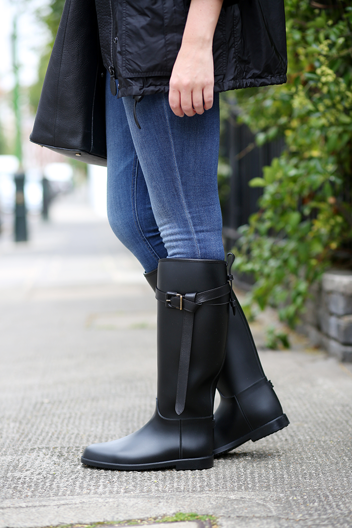 Burberry Rain Boots | The Style Scribe