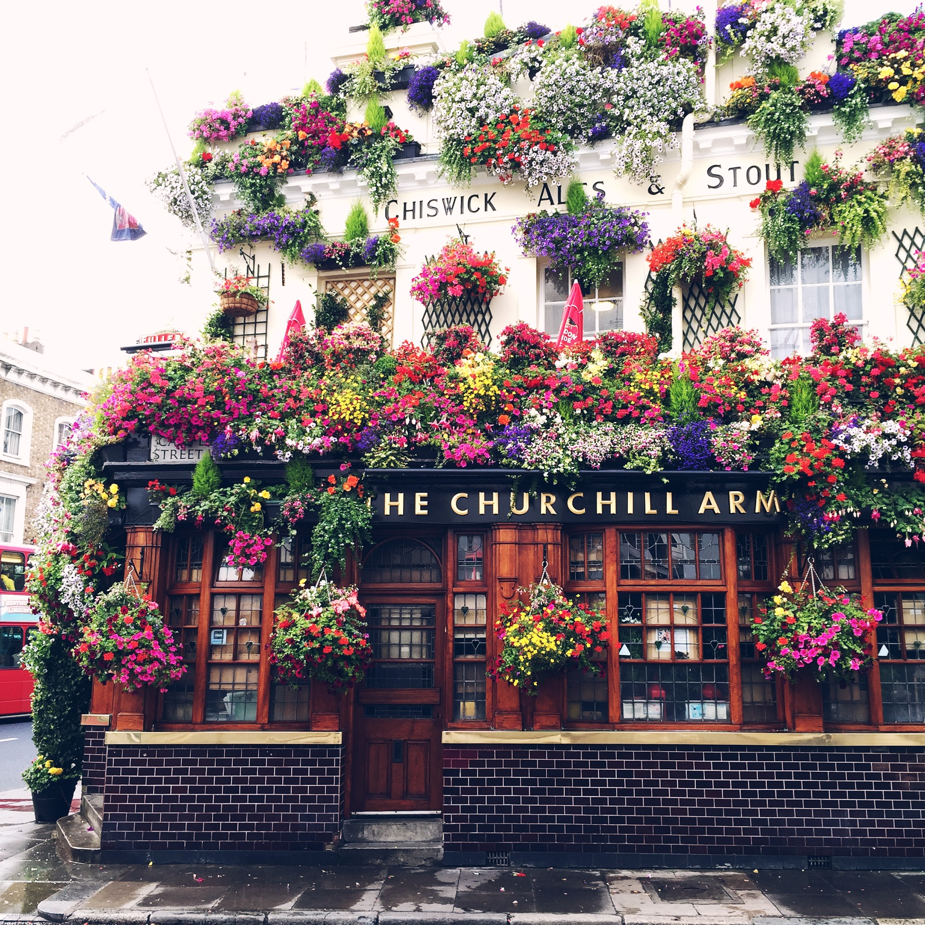 Churchill Arms, London | The Style Scribe