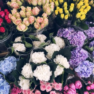 Flower Market in London