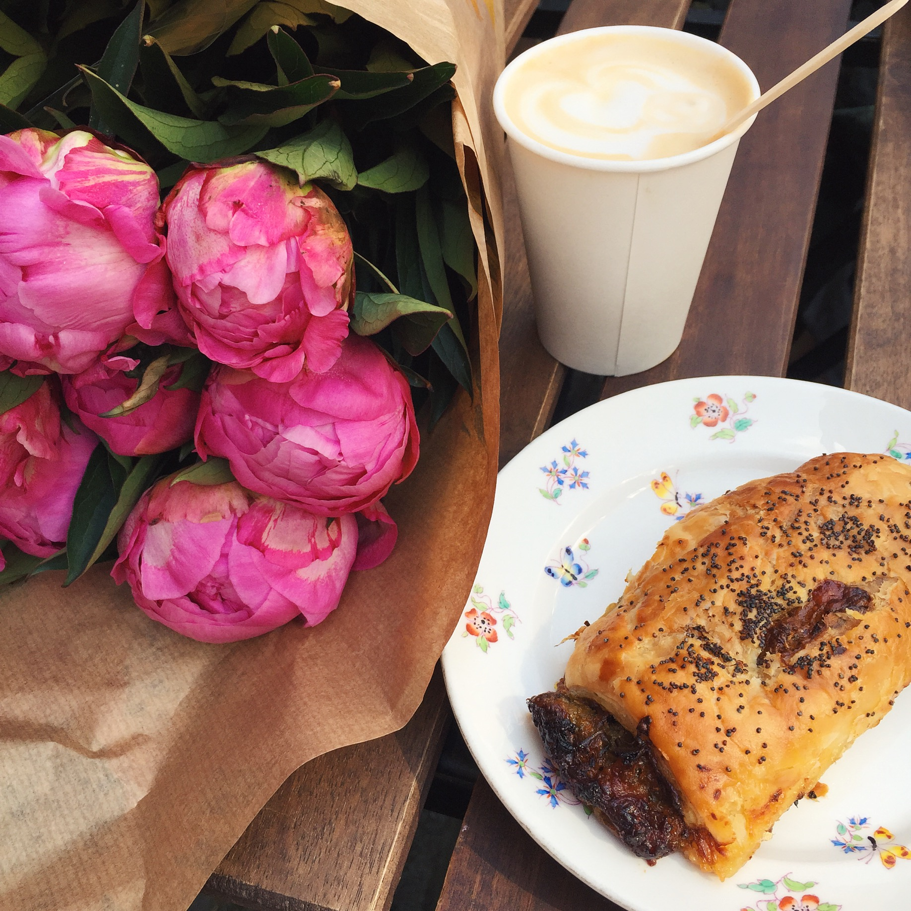Lily Vanilli at Columbia Road Flower Market | The Style Scribe