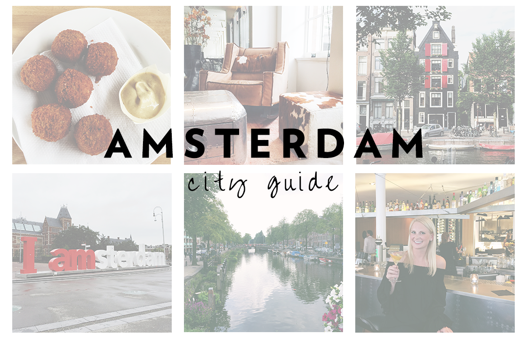 amsterdam city guide the style scribe