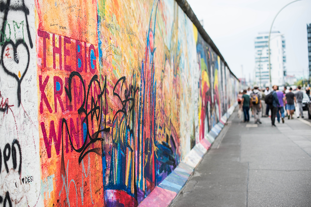 Berlin Wall / East Side Gallery | The Style Scribe