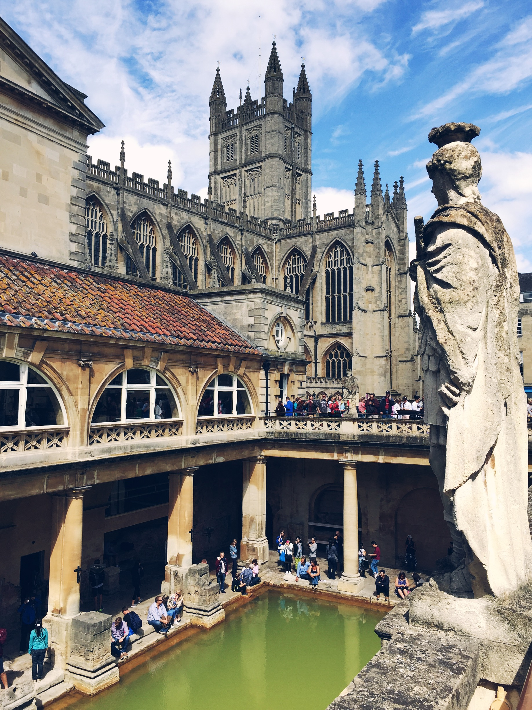 Roman Baths, Bath, England | The Style Scribe