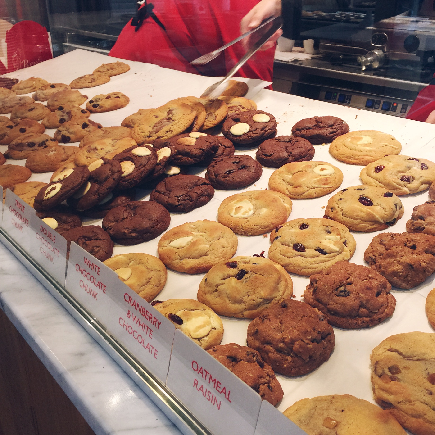 Ben's Cookies, Bath | The Style Scribe