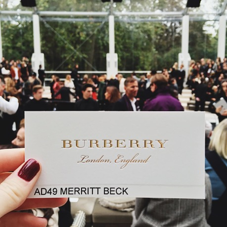 Burberry Prorsum, London Fashion Week