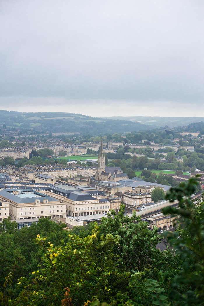 Aerial Views of Bath from Alexandra Park | The Style Scribe
