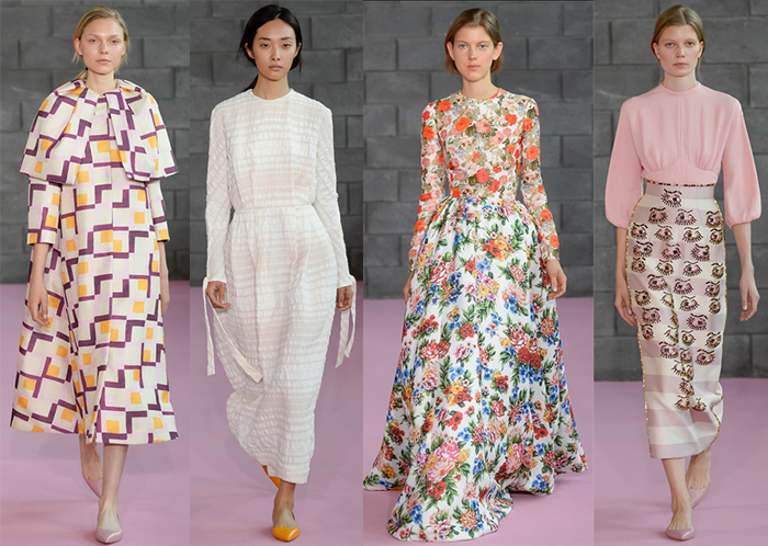 Emilia Wickstead Spring / Summer 2016 | The Style Scribe