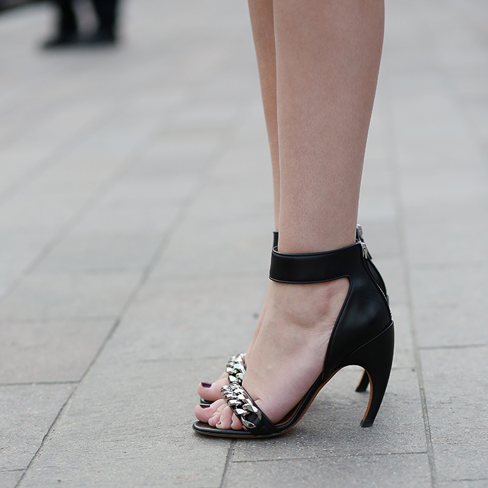 Givenchy Curved Heel Sandals | The Style Scribe