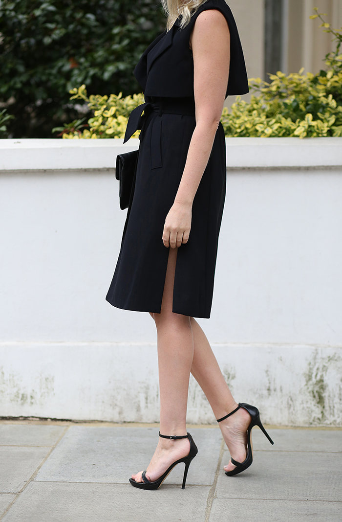 Sleeveless Trench Dress   The Style Scribe
