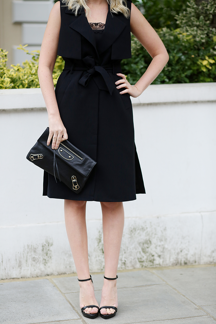 Sleeveless Trench Dress | The Style Scribe