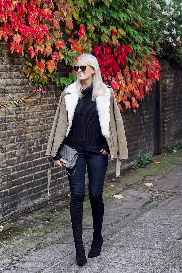 IRO Shearling Jacket | The Style Scribe
