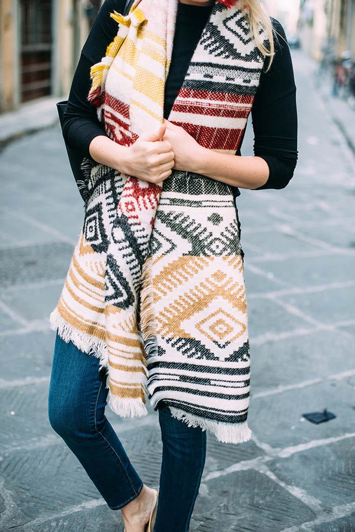 Blanket Scarf | The Style Scribe