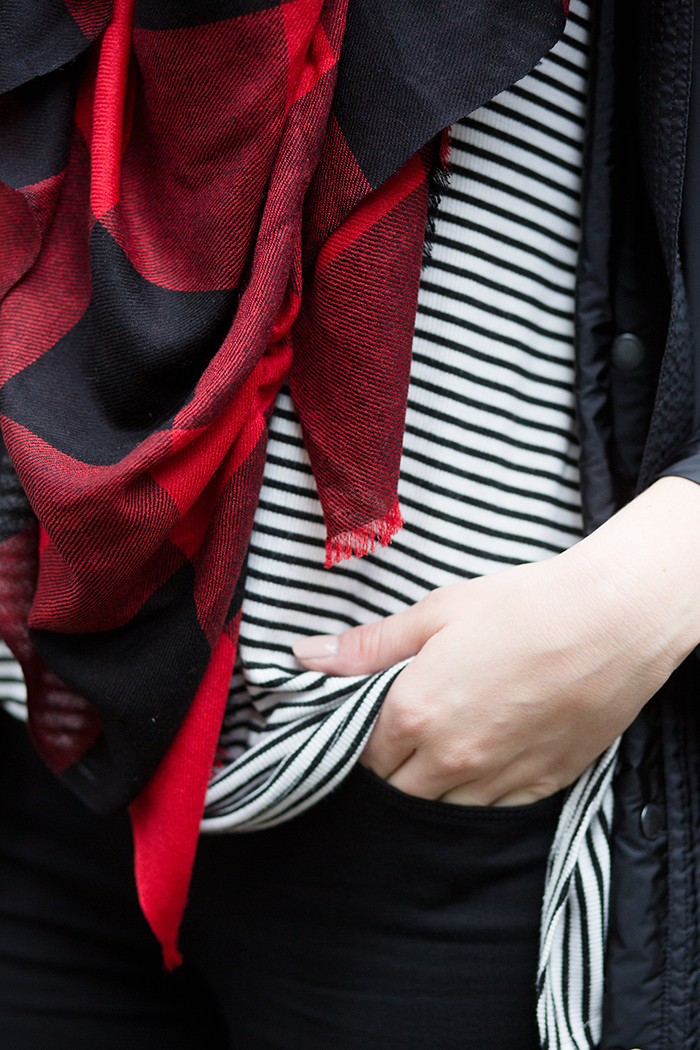 Buffalo Check Scarf | The Style Scribe